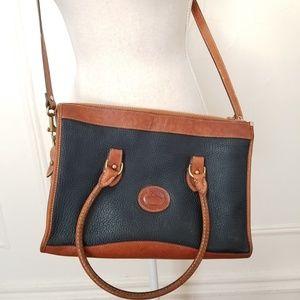 Dooney and bourke medium leather bag